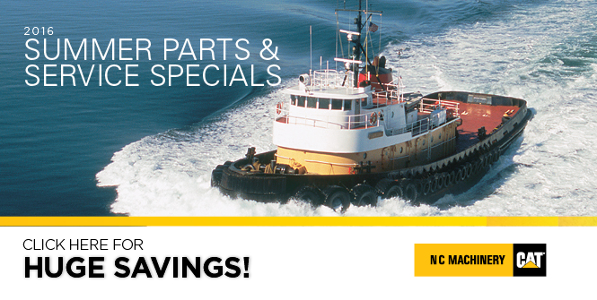 2016 Summer Parts and Service Specials