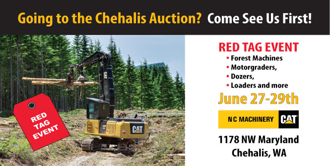 Chehalis Red Tag Event